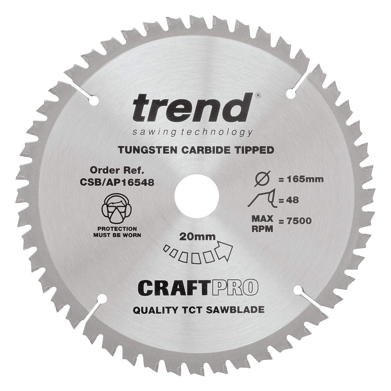 Trend CSB Sale item AP16548 165 x 48 Saw teeth Craft Credence 20 Blade