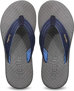 Aqualite Navy Blue Slippers - 9 UK (43 EU) (LGV00152GNBSB09)