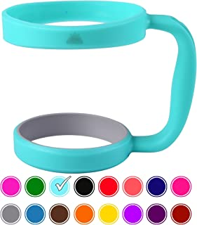 30oz Tumbler Handle (Teal) by STRATA CUPS - Available For 30oz YETI Tumbler, OZARK TRAIL Tumbler, Rambler Tumbler - BPA FREE