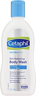 Cetaphil Pro Eczema Prone Body Wash for Dry & Itchy Skin, 295 ml