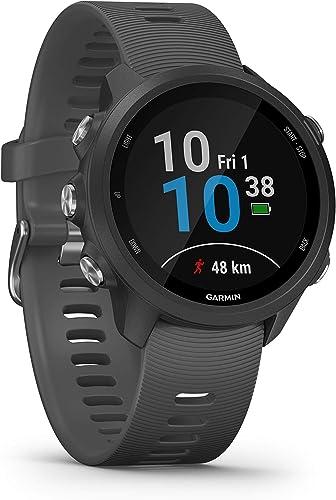 Garmin Forerunner 245, GPS Running Watch, Grey