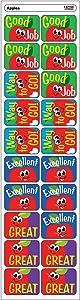 Trend Enterprises Apples Applause Stickers (100 Piece), Multi