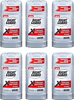 Right Guard Xtreme Odor Combat 2.6 Ounce Surge Solid (76ml) (6 Pack)