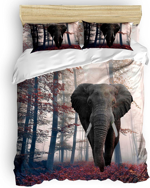 IDOWMAT Comforter Cover Set Duvet Thanksgiving Limited time cheap sale Full Sacramento Mall El
