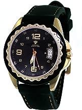 Unisex Aqua Master Black Dial Black/Gold Tone Case 0.24ct Diamond Watch W344