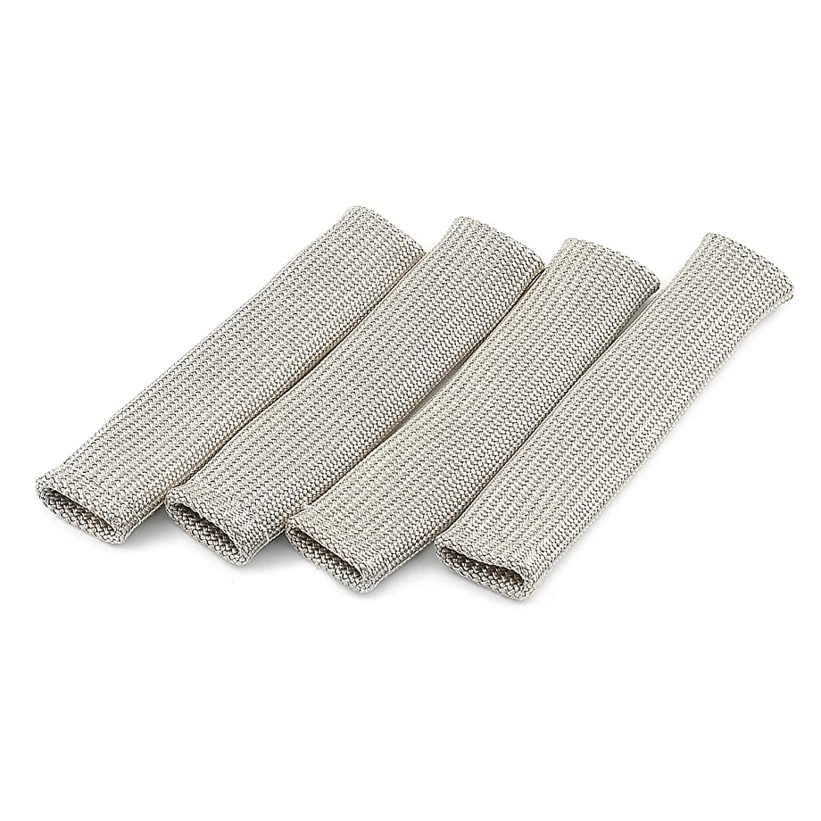 ACCEL 170086 Pro Sleeve Boot Guards - Fiberglass Spark Plug Wire Boot Protectors Heat Shield, 4 Pack