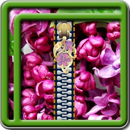 Zipper Lock Screen Lilac