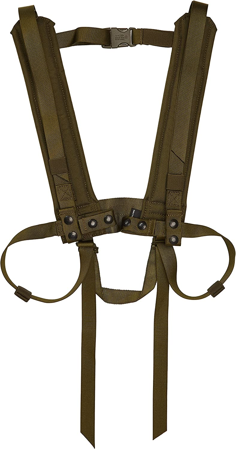Details about  /Large Load-bearing Body Support Harness Safety Belt Rappelling Black Red-Gray