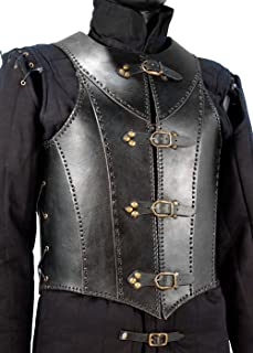 XL//XXL Armadura acolchada para adulto color negro Epic Armoury 30050661 RFB