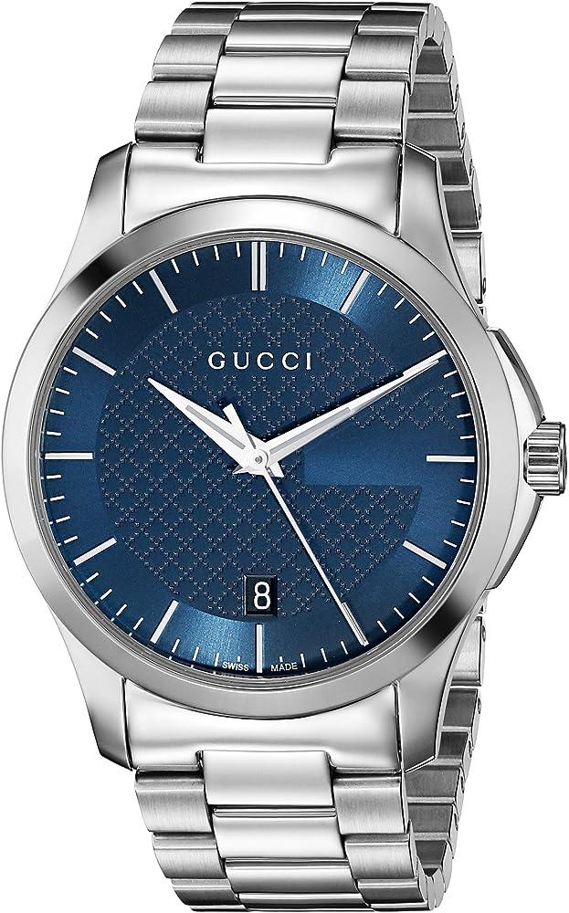 Gucci,orologio per uomo,in acciaio inossidabile YA126440