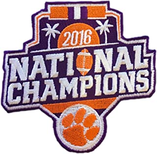 2016 College National Champions Clemson Tigers Football Patch