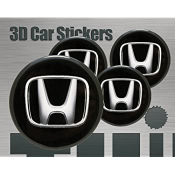 65 Think Ink Adesivi 3D Stickers 4 Pezzi Logo Imitazione Tutte Le Dimensioni Centro cap Wheel Coprimozzo