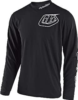 Troy Lee Designs Unisex GP Mono Jersey (Black, ADULT LARGE)