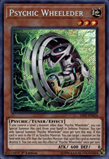Yu-Gi-Oh! - Psychic Wheeleder - SAST-EN024 - Secret Rare - Unlimited Edition - Savage Strike