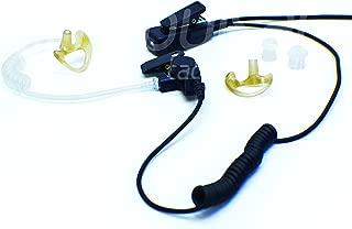 Pulsat Single-Wire Surveillance Mic Kit for Vertex Standard VX-231 VX-261 VX-351 VX-451 eVerge EVX-531 S47 Professional Series