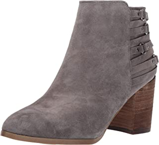 Fergie Womens Boston Faux Suede Strappy Ankle Boots