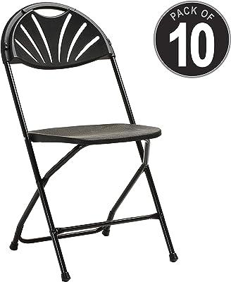 Amazon.com: Lavish Home A022285 Folding Chairs – Foldable ...