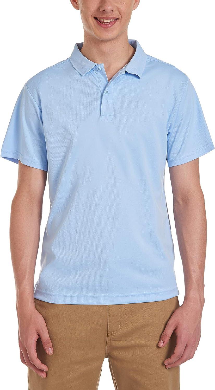 IZOD Uniform Young Men's Short Sleeve Performance Polo Shirt
