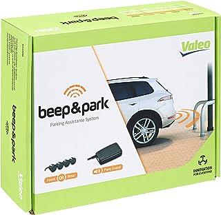 Valeo Beep&Park 632200 parkeerhulp met 4 sensoren en luidsprekers, zwart