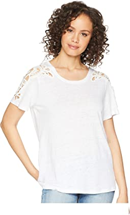 Cassandra Shirt w/ Crochet