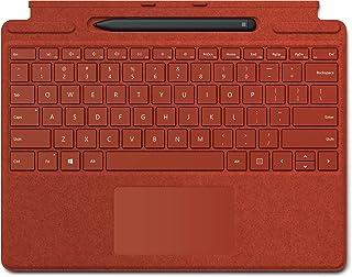 Surface Pro X Signature キーボード スリム ペン付き ポピー レッド 25O-00039