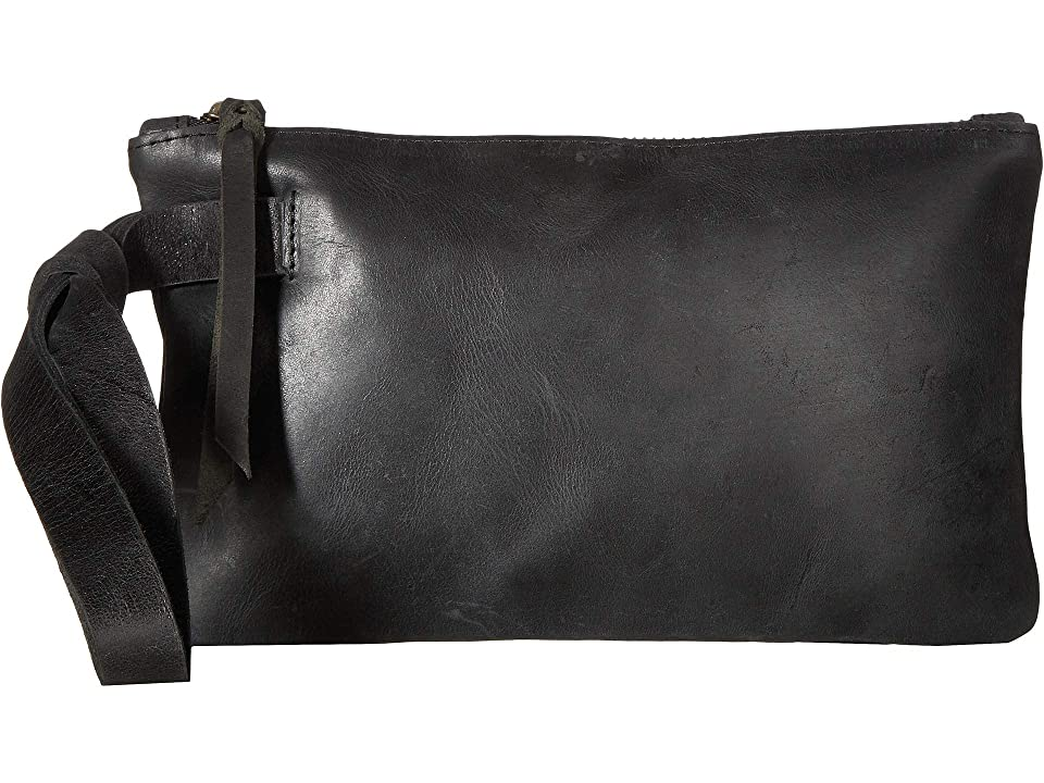 ABLE Rachel Wristlet (Black) Wristlet Handbags