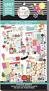 The Happy Planner Seasonal Stickers - 1557 Pieces