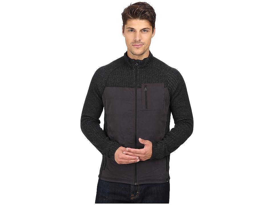 Prana Appian Sweater (Charcoal) Men