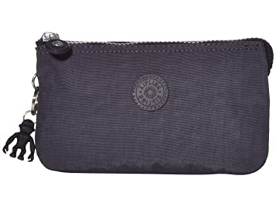 Kipling Creativity Large Pouch (Night Grey) Clutch Handbags