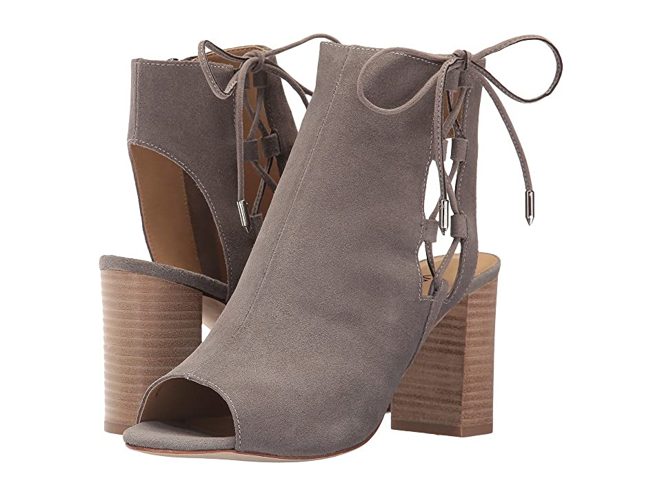 Vaneli Better (Taupe Rory Suede/Silver Trim) Women