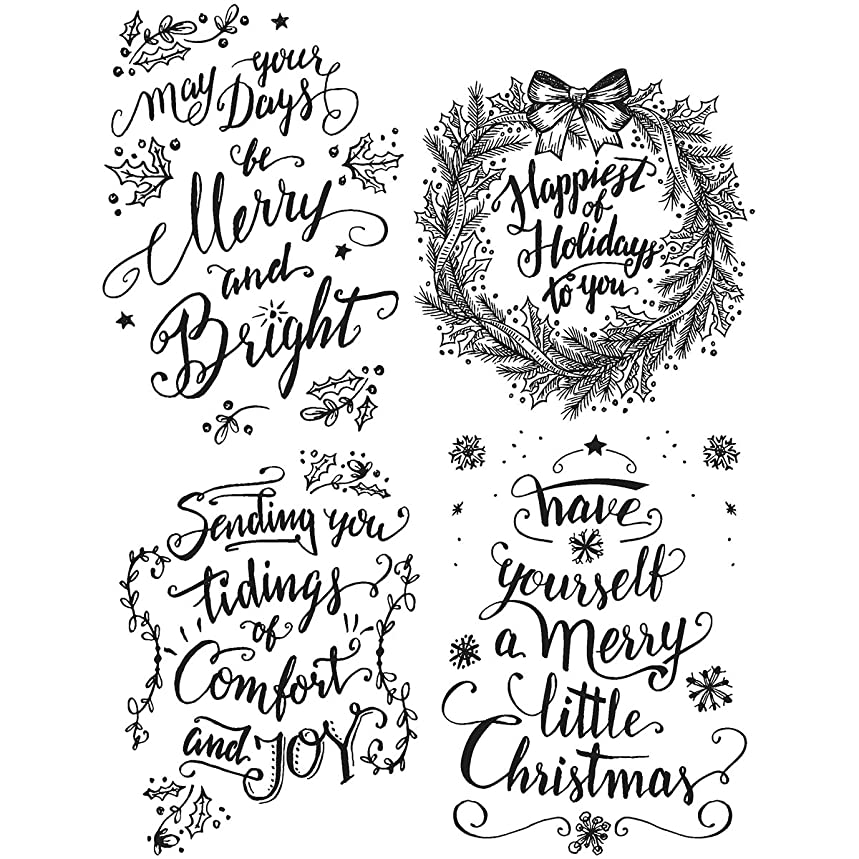 Stampers Anonymous CMS285 Tim Holtz Cling Stamps 7