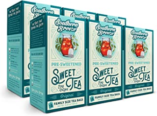 Southern Breeze Sweet Tea, 16 Count (Pack of 6)