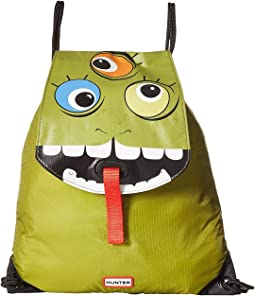 Hunter Kids - Original Character Drawstring Backpack (Kids)