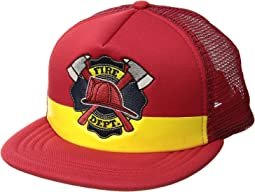 """Fire Dept."" Trucker (Little Kids/Big Kids)"