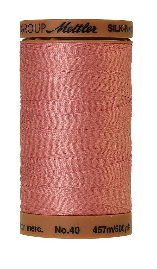 Mettler Silk-Finish Solid Cotton Thread, 500 yd/475m, Rose Quartz