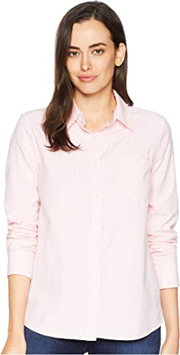 Vine Stripe Relaxed Oxford Button Down Shirt