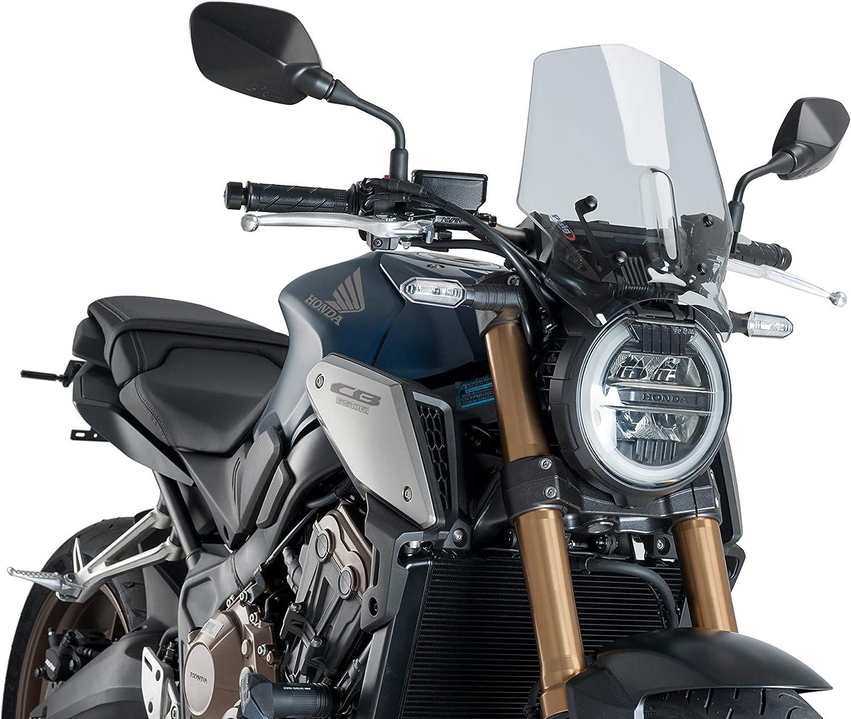 CB650R CB1000R Motociclo Alluminio Copertura Parabrezza Anteriore per HONDA CB650R Neo Sports Cafe 2019 2020 CB1000R Neo Sports Cafe 2018 2019 2020-Argento