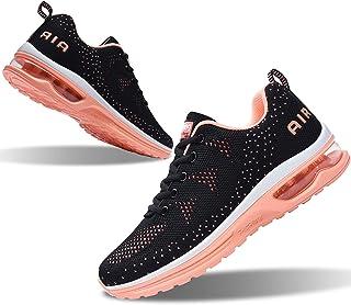 حذاء رياضي نسائي رياضي للجري رياضي من RomenSi حذاء رياضي مسامي مناسب لممارسة الرياضة والمشي والتنس (US5.5-10 B(M)