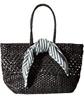 Loeffler Randall - Edith Woven Leather Mini Tote