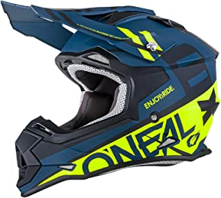 O'Neal Unisex-Adult Off-Road Style 2SERIES Helmet SPYDE black/hi-viz XXL (