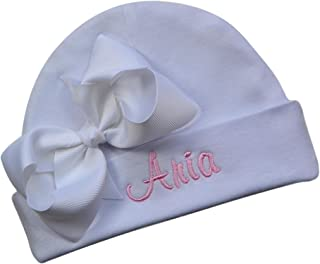 personalized baby hospital hats