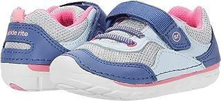 Stride Rite boys Soft Motion Rhett First Walker Shoe, Blue Multi