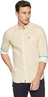 Allen Solly Men's Printed Regular Fit Casual Shirt