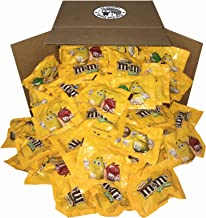 M&M's Peanut Chocolate Classic Candy (5 lbs) Bulk of Fun Size Snacks in a Bag for Party, Buffet, Pinata, Office, Wedding Favors, Halloween, Christmas Gift, Easter Baskets