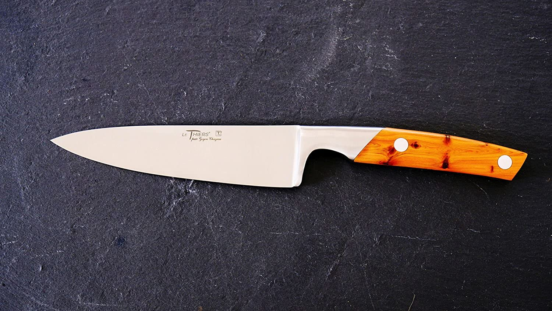 Allzweck-Küchenmesser, Kochmesser Thiers Goyon-Chazeau, Wacholdergriff 15 cm B07DTGVLG6
