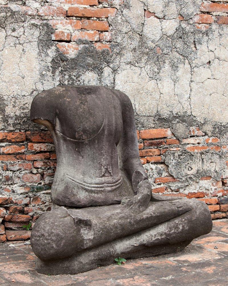 Buddha Popular Thailand 16x20 Tulsa Mall Photograph