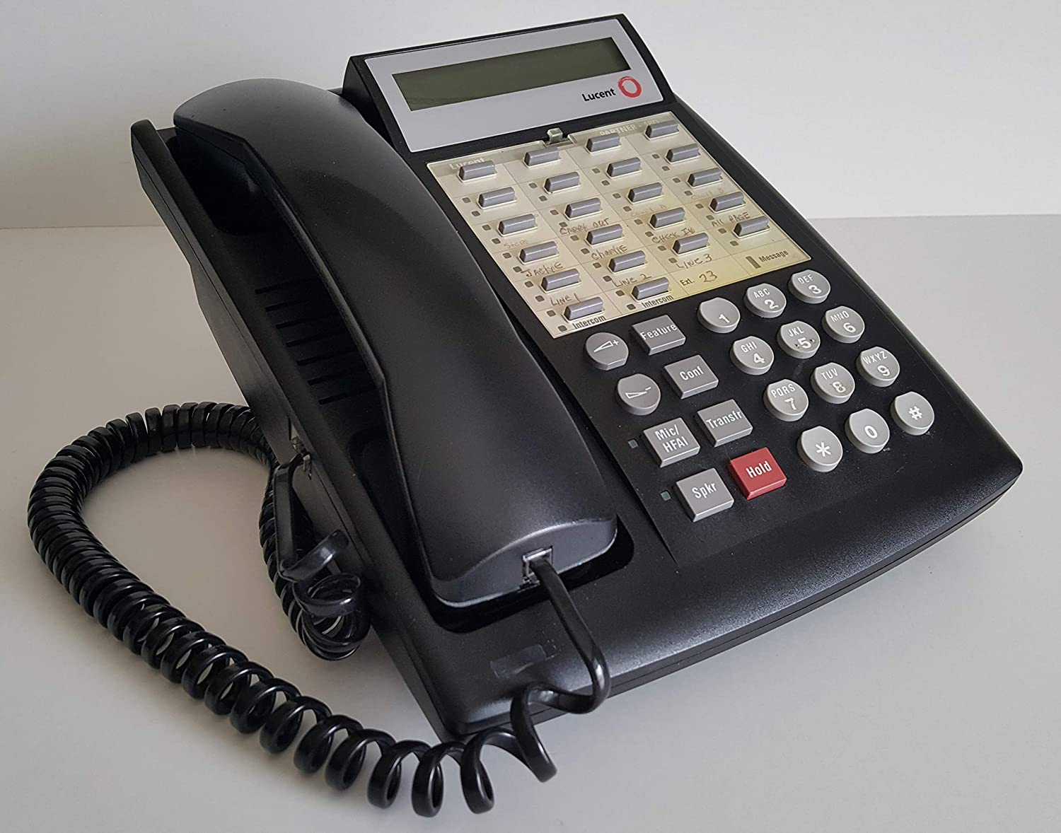 Lucent Avaya Max 68% OFF Partner 18D Euro Max 70% OFF with 108236712 Telephone Black Bas