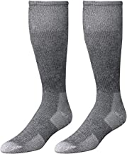 Wells Lamont Western Boot Socks, Gray, Shoe Sizes 13 to 15, 2 Pair Pack (9334XLN)