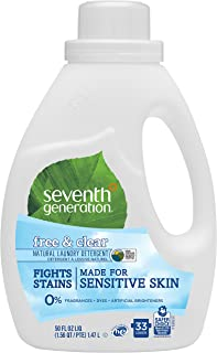 Seventh Generation Liquid Detergent, Free and Clear, 1.47L