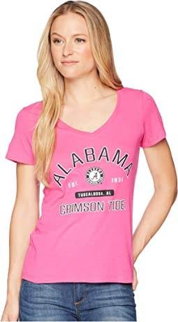 Alabama Crimson Tide University V-Neck Tee